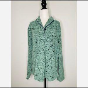 Woolrich Women's Fleece Sweater Floral size XL